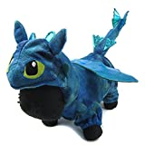 Alfie Pet - Night Fury Dragon Costume - Color: Blue, Size: Small Larger Image