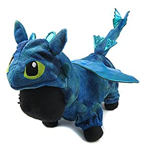Alfie Pet by Petoga Couture - Night Fury Dragon Costume - Color Blue, Size: Small
