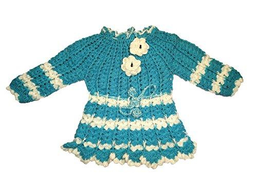 7f9895accaca CutiePie Collections Baby Girl s Woollen Handmade Sweater (12-18 ...
