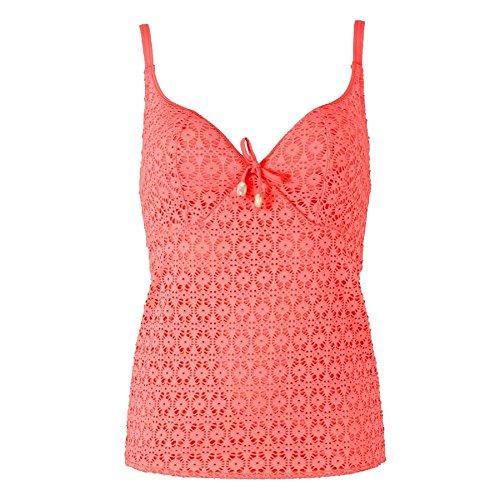 Freya Swimwear Spirit AS3906 Soft Cup Coral Plunge Tankini Top