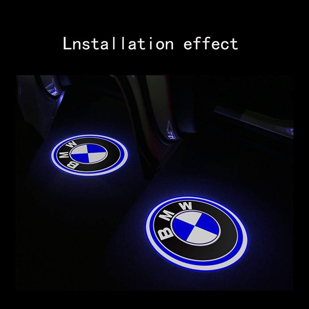 Luz de bienvenida para puerta de coche con logotipo HD-01