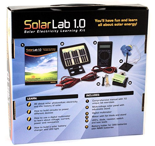 Solar-Lab-10-Electricity-Learning-Kit