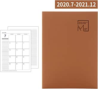 Cuaderno Wanfor, agendas 2020-2021 planificador