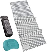 """REDCAMP Closed Cell Foam Camping Sleeping Pad, 22"""" Wide Lightweight Folding Camping Pad for Hiking Backpa"""