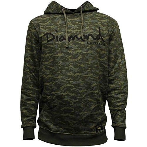 Diamond Supply Co Tonal Camo Hoodie Green by Diamond Supply Co
