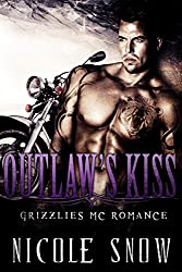 Outlaw's Kiss: Grizzlies MC Romance (Outlaw Love) (English Edition)