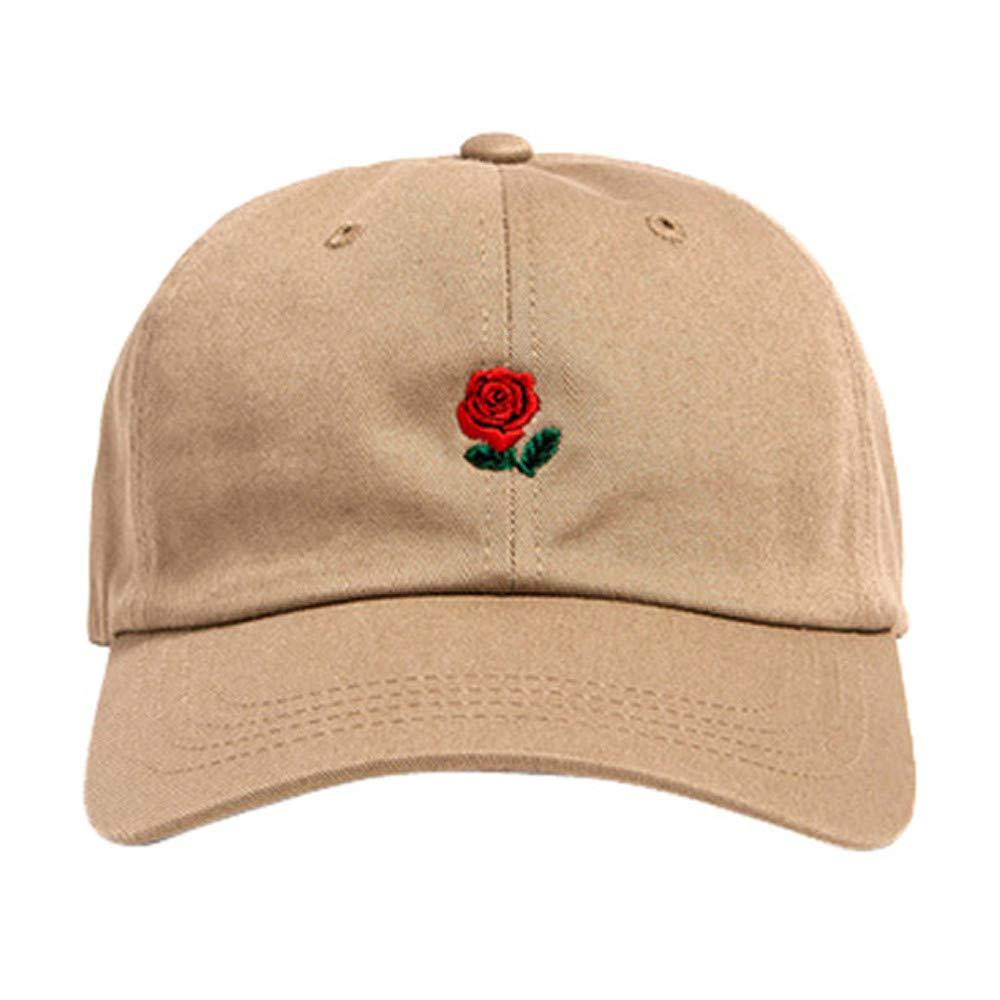 Yaseking Solid Color Baseball Cap Men Women Embroidery Cotton Baseball Cap Adjustable Snapback Hip Hop Flat Hat