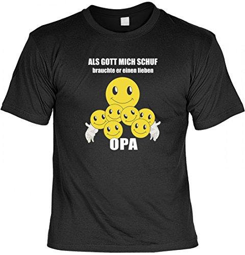 Lustiges Geschenk für einen lieben Opa - T-Shirt als Geschenk zum Geburtstag oder zu Weihnachten