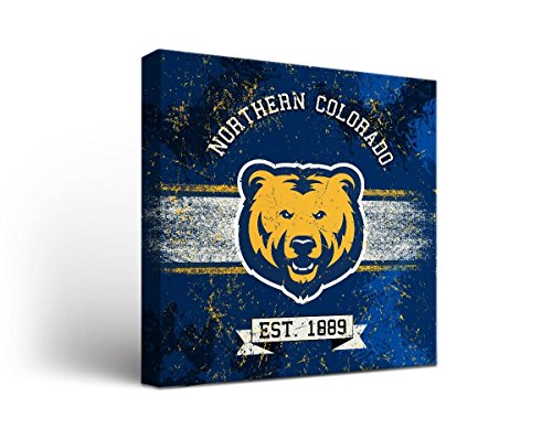 (Victory Tailgate University of Northern Colorado UNC Bears Canvas Wall Art Banner Version (18x24))