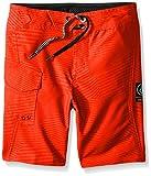 Volcom Little Boys' Toddler Stone Mod Boardshort, Flash Orange, 2T