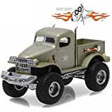 """1941 Military 1/2 Ton 4x4 Pick Up Truck """"Sgt. Rock"""" Stacey David's Gearz (2010-Current) TV Series 1/64 by Greenlight 44750 D"""
