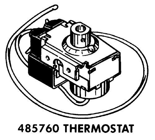 Amazon Com Whirlpool 485760 Room Air Conditioner Thermostat Genuine