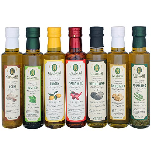 Naturally Infused Extra Virgin Olive Oil Dressings Variety Pack, 8.5 Ounces