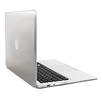 kwmobile Funda para Apple MacBook Air 13(2011-mediados de 2018) Case Protector Duro para Laptop - Carcasa Delgada y Transparente en Transparente