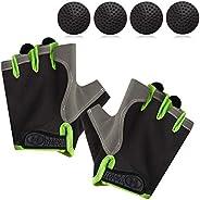 TOBWOLF Basketball Dribble Gloves, Finger Training Anti Grip Basketball Gloves, Basketball Training Aids Exerc