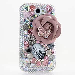 3D Luxury Swarovski Crystal Diamond Bling Marilyn Monroe Design Case Cover for Iphone 5/5S (Handcrafted by BlingAngels)