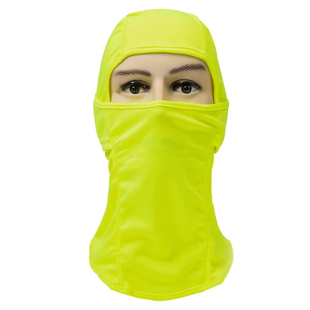 Motorcycling Fishing cnnIUHA Outdoor Headwear Face Sun Mask Magic Scarf Neck Bandana Balaclava CS Ninja Hood for Cycling Moisture Wicking UV Protection Running