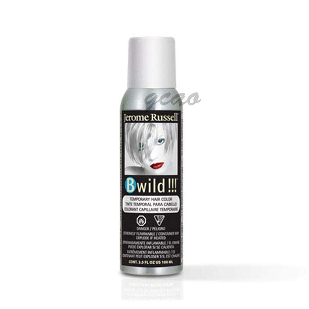 Jerome Russell B Wild (Siberian White) Temporary Hair Color Spray 3.5oz