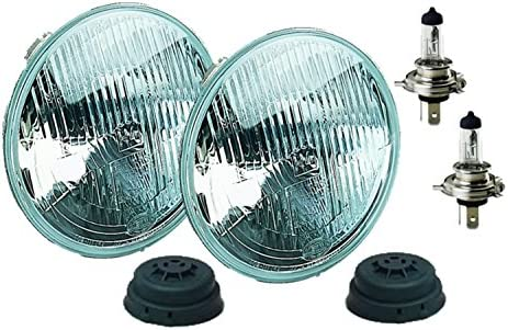 Lucas PL700 Pair Replica Headlamp Replacements Excellent Light Pattern 54520293