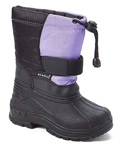 Fashion Cold Weather Boots - SkaDoo 1317 Lilac Toddler 6