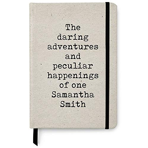 - Personalized A5 Dotted Notebook - 150 Bullet Pages - The Daring Adventurers