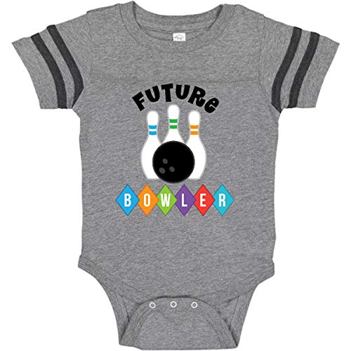 inktastic - Future Infant Creeper 12 Months Football Heather and Smoke 20e50