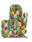 FYDELITY KITCH-O'LICIOUS- Oven Mitts & Pot Holder Set: PRINT Gummy Bears