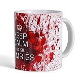 """Un mug """"Keep Calm and Kill Zombies"""" : pour les fans de Walking Dead"""
