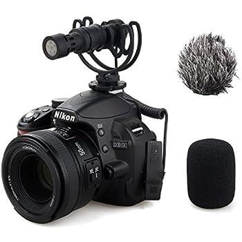Comica CVM-VM10II Full Metal Compact On Camera Cardioid Directional Mini Shotgun Video Microphone for Smartphone iPhone,HuaWei,DJI Osmo,SonyA9/A7RII/A7RSII,GH4/ GH5, and DSLR Camera