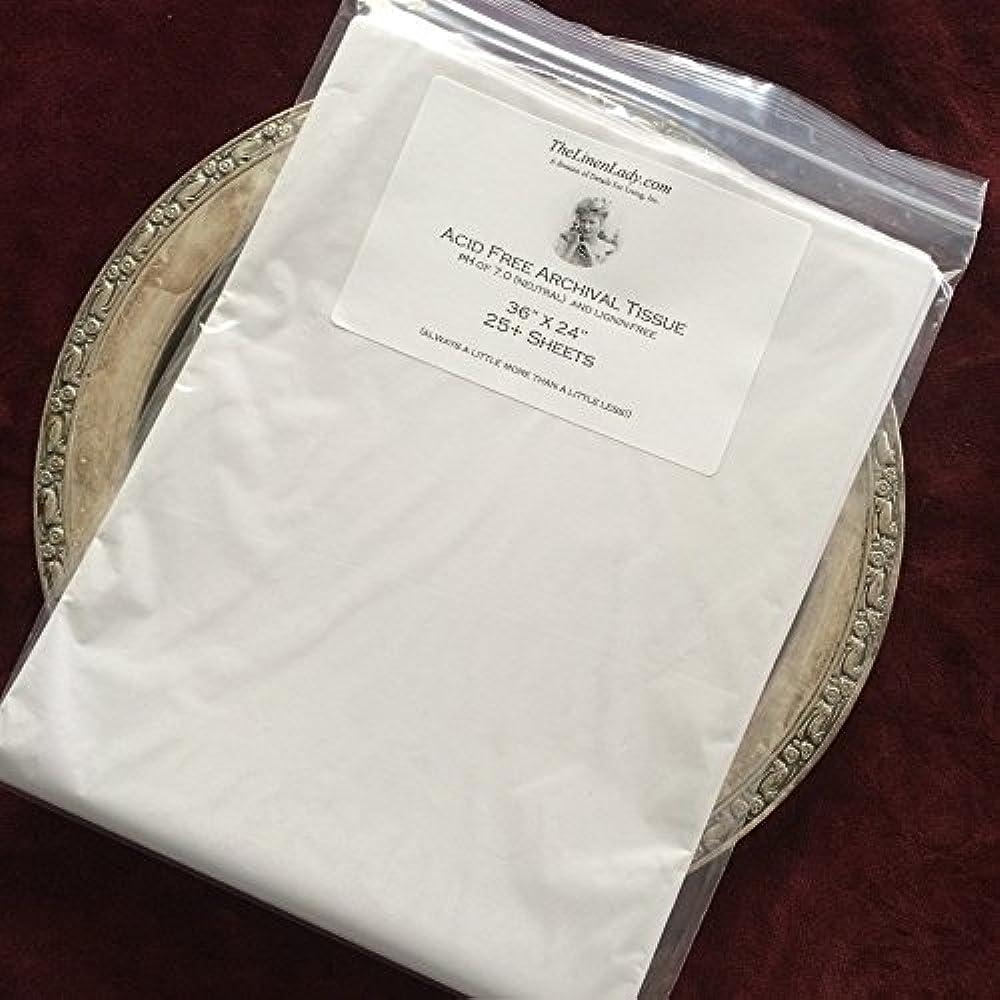 "100 Sheets GENUINE ACID FREE Tissue Paper UNBUFFERED White 15 x 20/"""