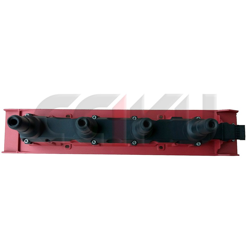 cciyu nueva Bobina de encendido uf422 55561132 9134404 9167016 9178955 1482102 55561132 Casete unidades rojo para 99 - 00 Saab 9 - 3 94 - 98 Saab 900 1990 ...