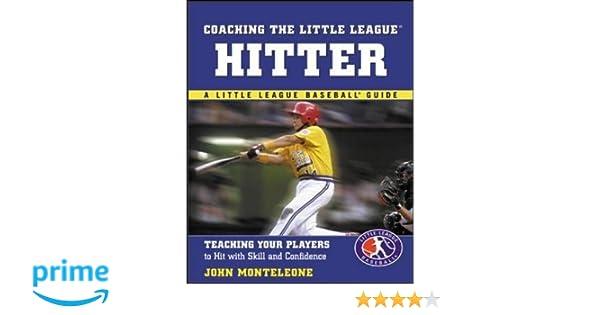 coaching the little league hitter monteleone john
