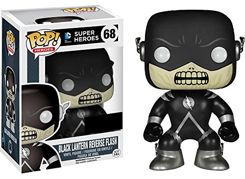 Funko Pop! DC Heroes #68 Black Lantern Reverse Flash - Hot Topic Exclusive