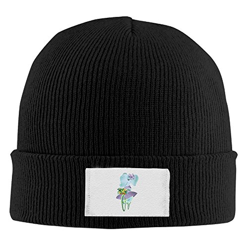 Kzjsr Cap Elephants Ride Bicycles Men Thick Pompoms Chunky Lined Knitting Beanies Skull - Ride Lined Beanie