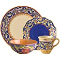 Pfaltzgraff 32 Pc. Blue Dinnerware Set