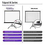 Elite Screens Tripod B, 85-INCH 1:1, Lightweight