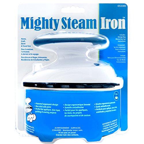 Dritz 653380 Travel Steam Iron Mighty Travel Iron Steam Iron