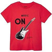 Mayoral Camiseta Manga Corta Lentejuelas niño Modelo 3048