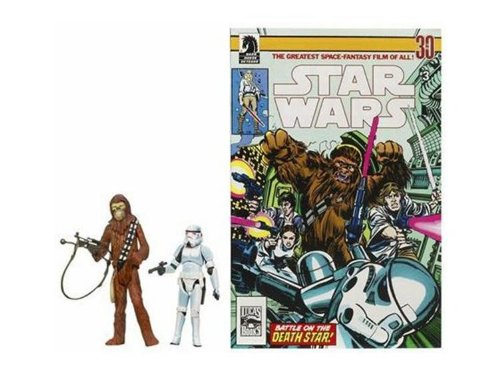Star Wars 3.75 Expanded Universe Han Solo /& Chewbacca Hasbro 87506