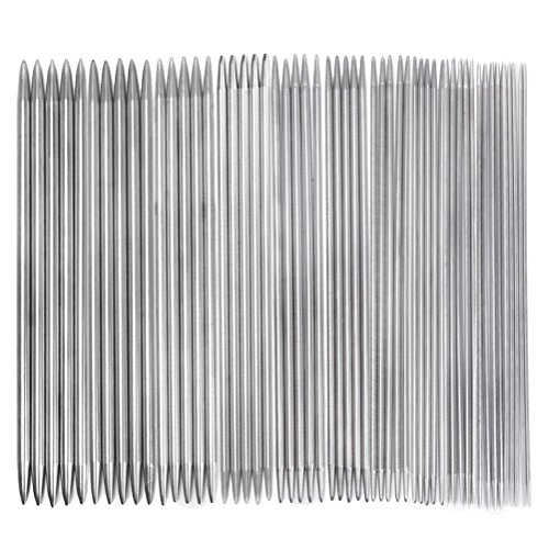 Tinksky Stainless Straight Pointed Knitting