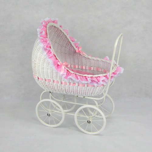 Isabella Play Pram Large by Regal Doll Carriages