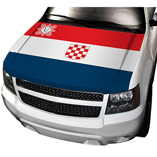 APFoo Fascist state the Independent State of Croatia during 1941-1946,Fascist Car Automobile Hood Cover M(80x130cm)