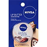 NIVEA Cocoa Butter Lip Butter .59 Ounce Carded