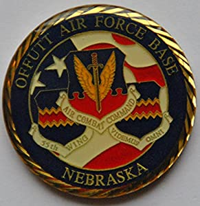 Offutt Air Force Base Challenge Coin