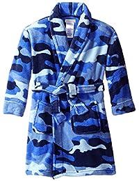 Komar Kids boys Fleece Camo Print Robe