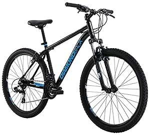 "Diamondback Bicycles Sorrento Hard Tail Complete Mountain Bike, 16""/Small, Black"