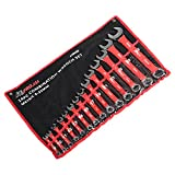 ATE Pro. USA 10930 Combination Wrench, Metric, Soft-Grip, 9 mm - 32mm, 14 Piece Set