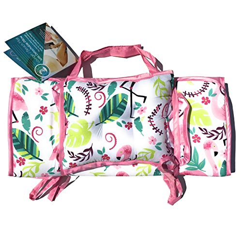 - Coco Reef Flamingo Lounge/Beach Mat with Detachable Pillow