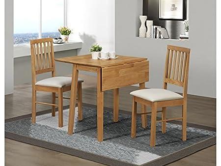 Birlea Drop Leaf Dining Set   Drop Leaf Dining Table U0026 2 Dining Chairs    Antique