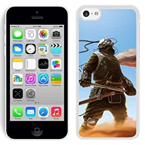 Beautiful And Unique Designed With Cyborg Weapons Sky Sand (2) For iPhone 5S Phone Case